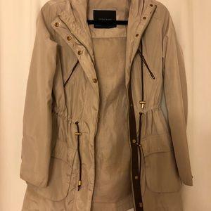Zara Basic Rain jacket